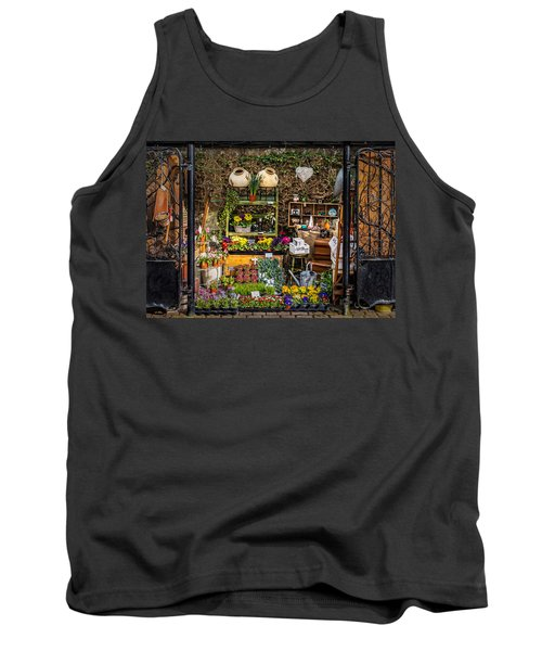 Tank Top featuring the photograph Little Market by Nick Bywater
