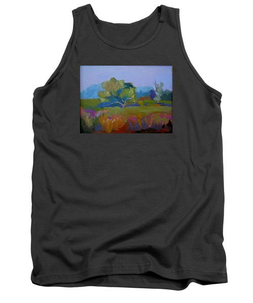 Tank Top featuring the painting Little Miami Meadow by Francine Frank