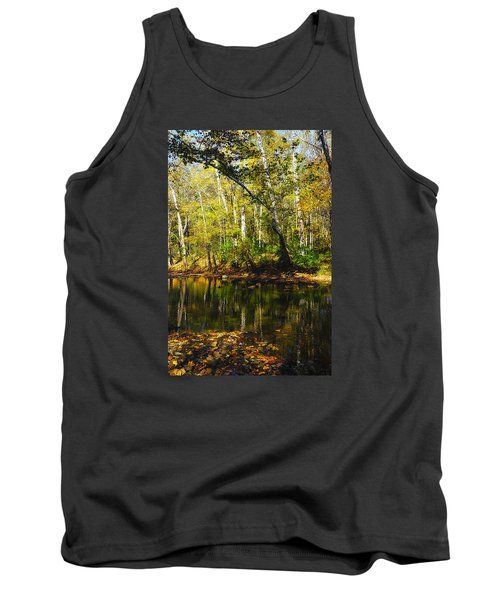 Tank Top featuring the photograph Little Miami River by Beth Akerman