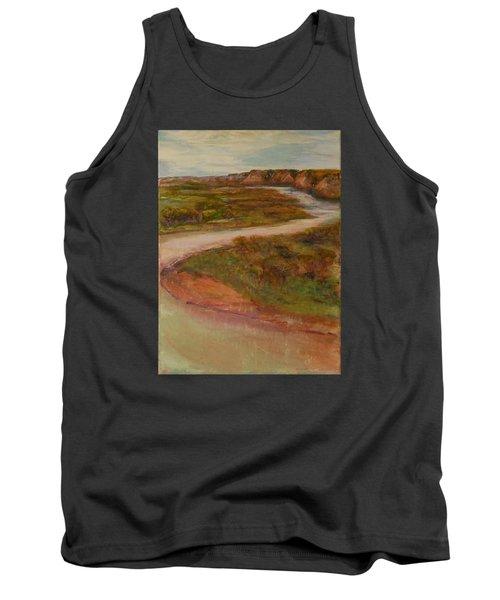 Little Missouri Overlook  Tank Top by Helen Campbell