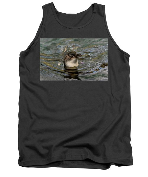 Little Penguin In The Water Tank Top