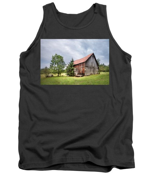 Tank Top featuring the photograph Little Rustic Barn, Adirondacks by Gary Heller
