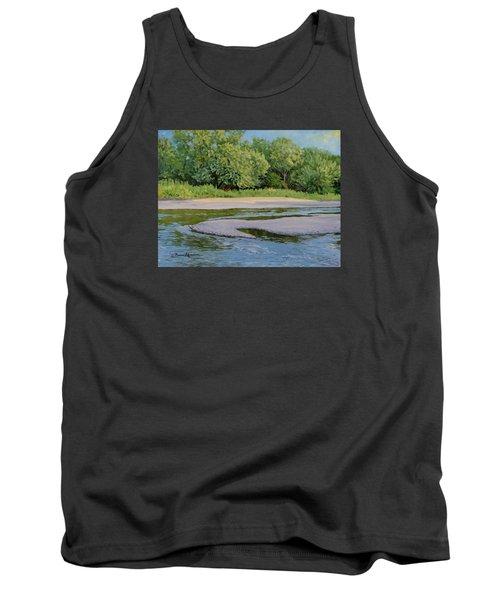 Little Sioux Sandbar Tank Top by Bruce Morrison