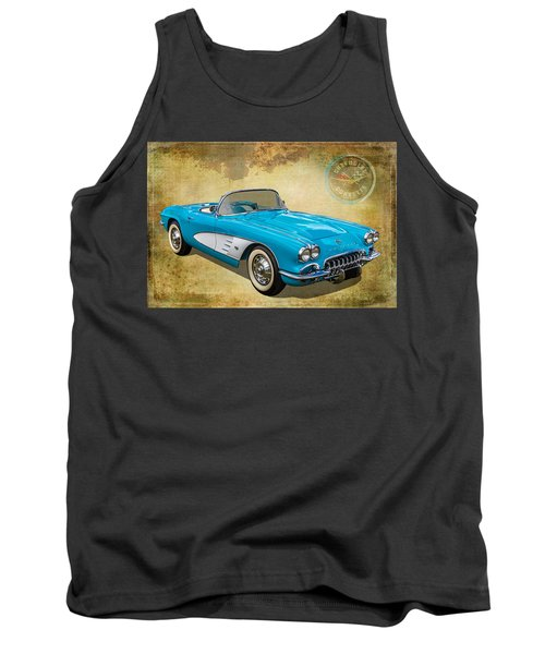 Little Vette Tank Top by Keith Hawley