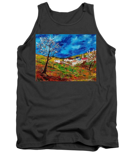 Little Village Tank Top by Mike Caitham