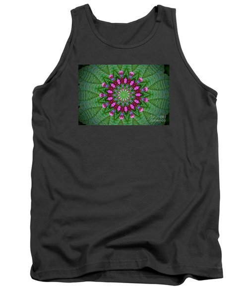 Little Weed Kaliedoscope Tank Top by Shirley Moravec