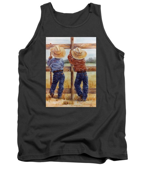 Little Wranglers Tank Top