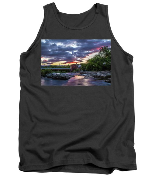 Littleton Sunset On The Rocks Tank Top