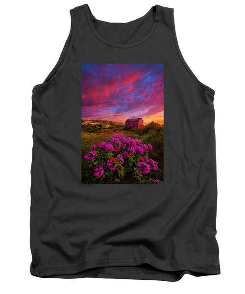Live In The Moment Tank Top by Phil Koch