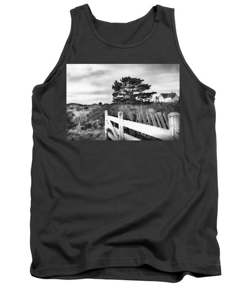 Living The Good Life Black And White Version Tank Top by Kandy Hurley
