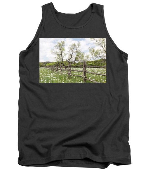 Llano County Wildflowers Tank Top