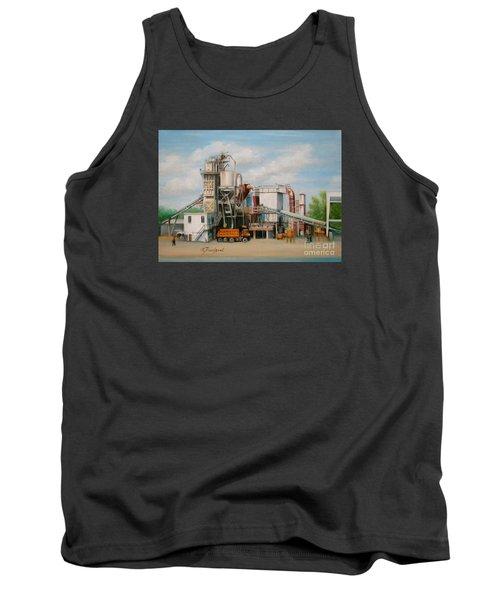 Load  The Big Orange Truck Tank Top
