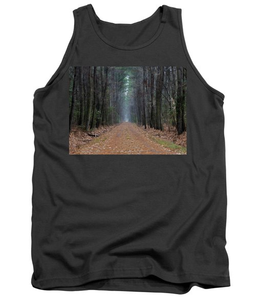 Tank Top featuring the photograph Loblolly Lane by Robert Geary