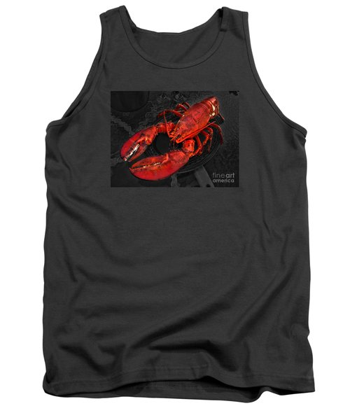 Tank Top featuring the photograph Lobstah by William Fields
