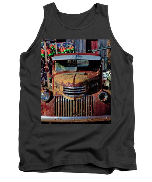 Lobster Pots And Chevys Tank Top