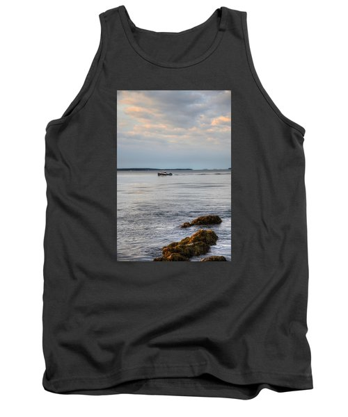 Lobsterboat Freedom II - Bass Harbor, Maine Tank Top