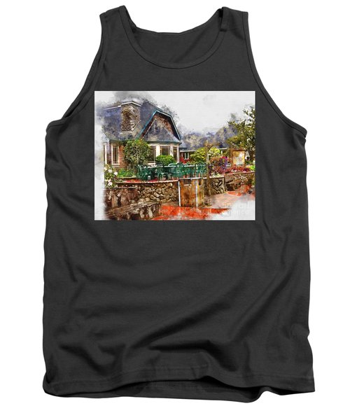 Local Grill And Scoop Tank Top