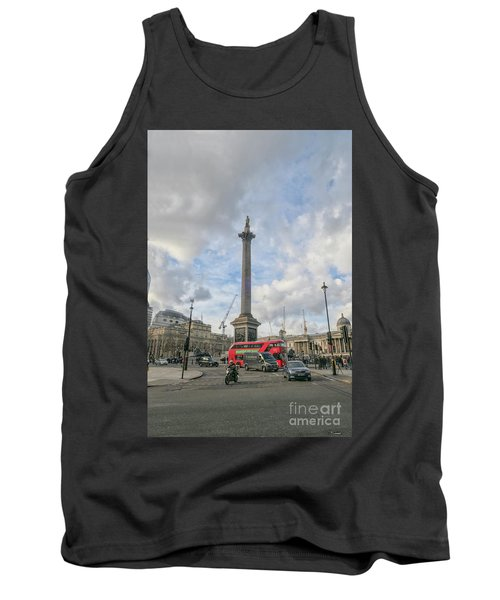 London Bus And Lord Nelson Tank Top