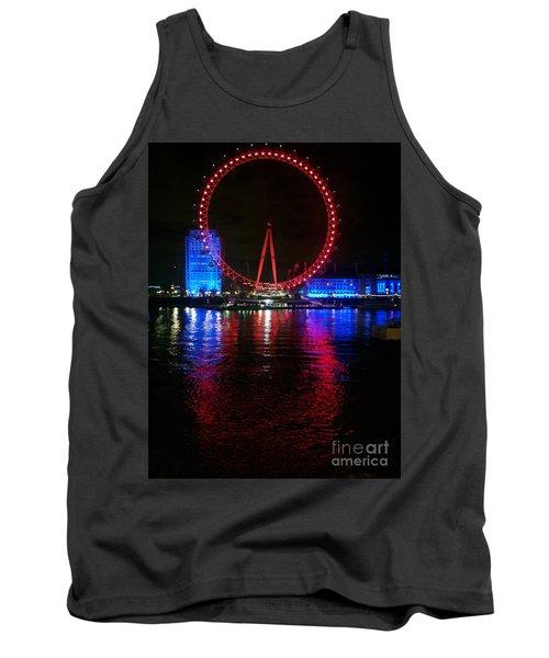 London Eye At Night Tank Top