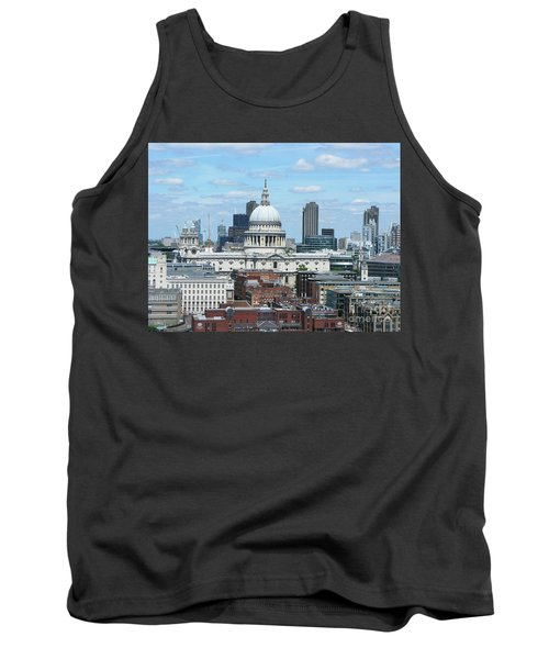 London Skyscrape - St. Paul's Tank Top by Mini Arora