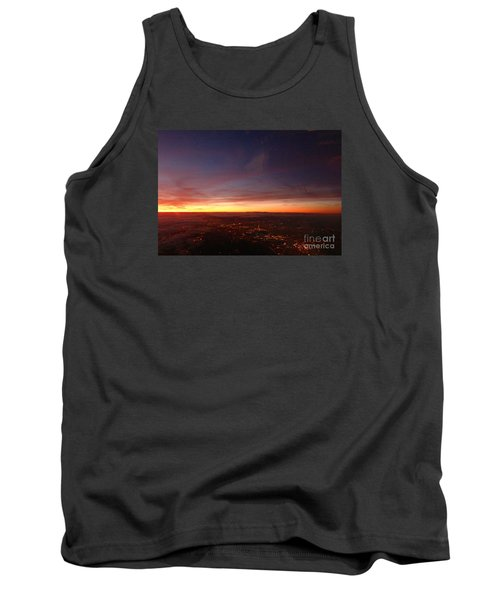 Tank Top featuring the photograph London Sunset by AmaS Art