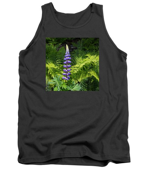 Lone Blue Lupine Tank Top