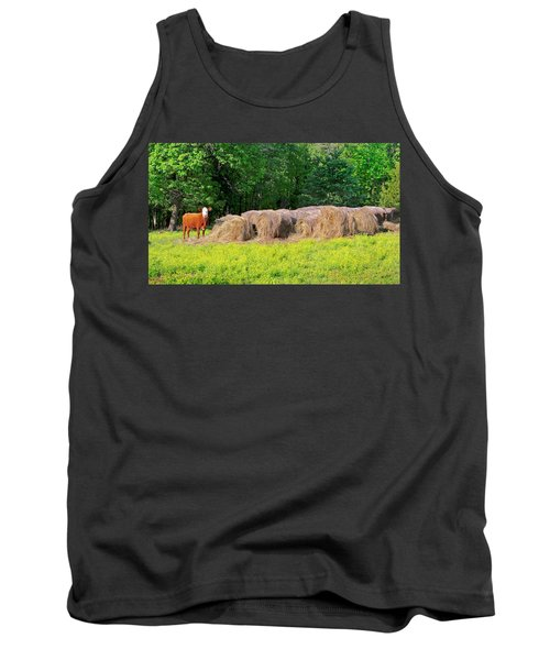 Lone Cow Guard, Smith Mountain Lake Tank Top