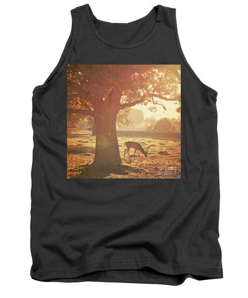 Tank Top featuring the photograph Lone Deer by Lyn Randle