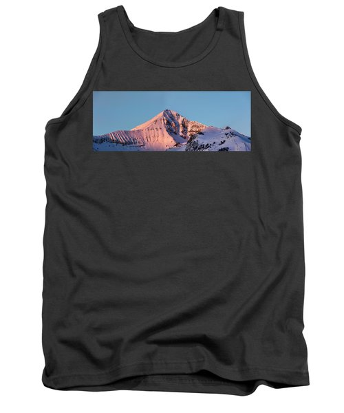 Lone Mountain Alpenglow Panoroama Tank Top