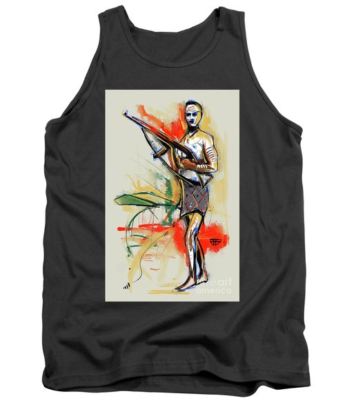 Lone Native Soldier Tank Top