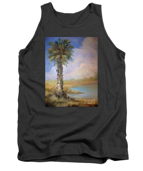 Lone Palm Tank Top