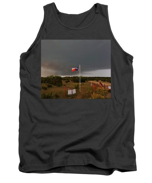Lone Star Supercell Tank Top by Ed Sweeney