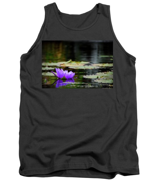 Lone Water Lilly Tank Top