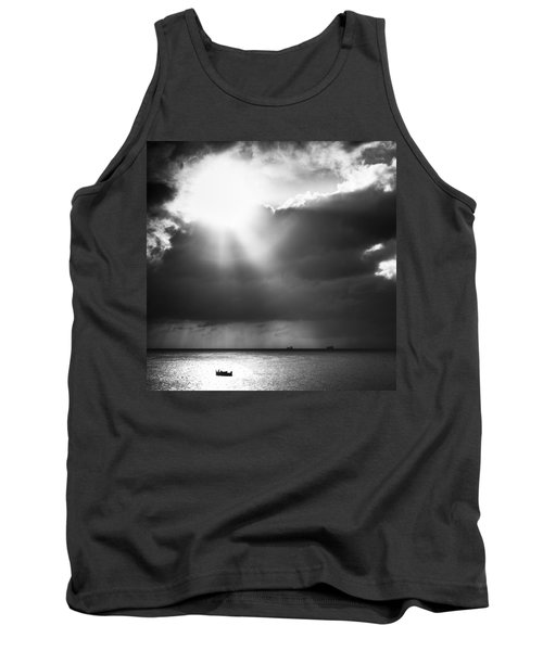 Lonely At Sea Tank Top