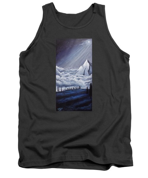 Lonely Mountain Tank Top by Dan Wagner