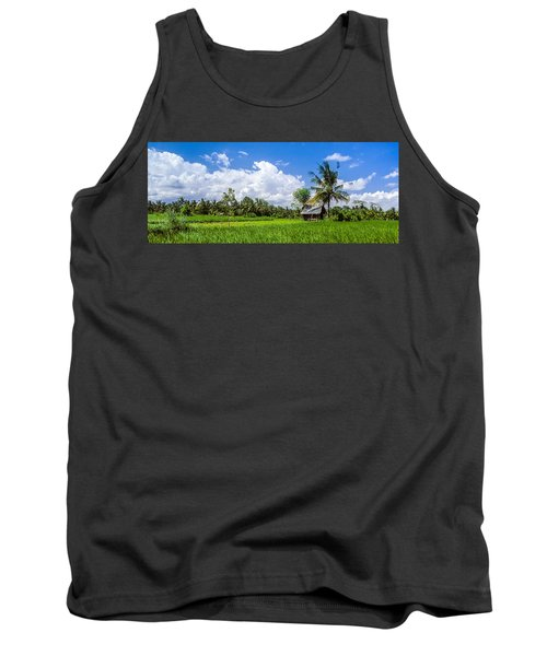 Lonely Rice Hut Tank Top