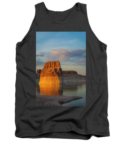 Lonely Rock Tank Top by David Cote