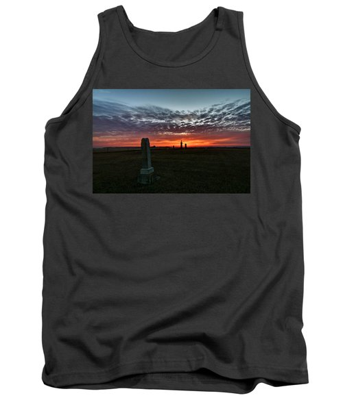 Lonely Sunset Tank Top