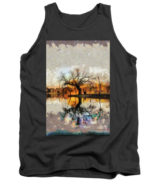Lonely Tree And Its Thoughts Tank Top