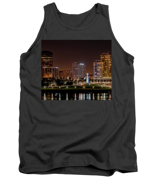 Long Beach A Chip In Time Color Tank Top