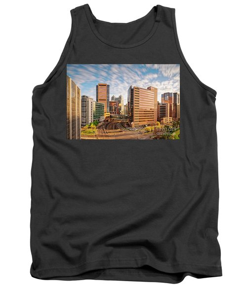 Long Exposure View Of The Texas Medical Center Houston Harris County - Southeast Texas Tank Top