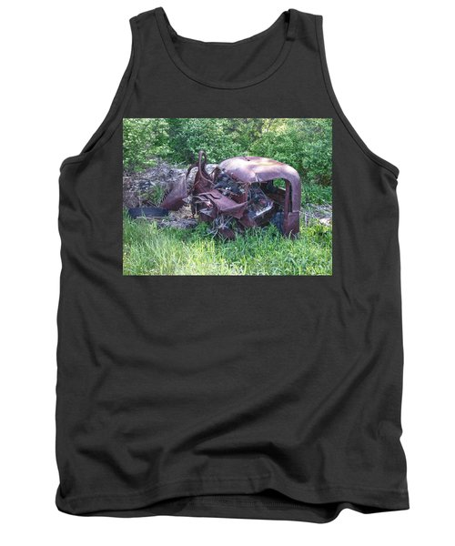 Tank Top featuring the photograph Long Forgotten 2808 by Guy Whiteley