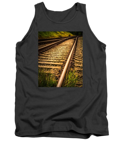 Tank Top featuring the photograph Long Gone by Odd Jeppesen
