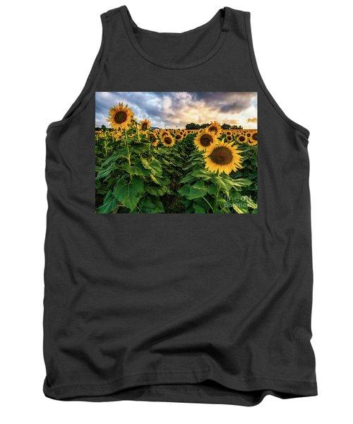 Long Island Sunflowers  Tank Top