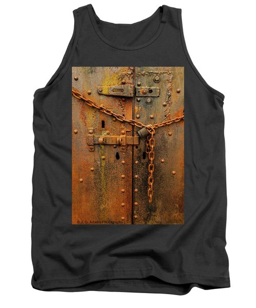 Long Locked Iron Door Tank Top