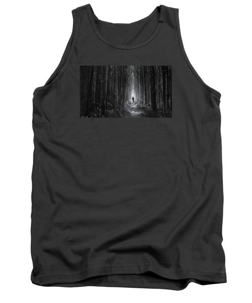 Tank Top featuring the photograph Long Way Home by Bernd Hau