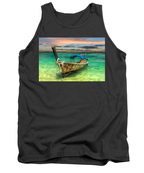 Longboat Sunset Tank Top