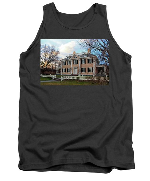 Longfellow House At Sunset Tank Top