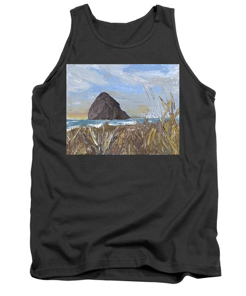 Longing For The Sounds Of Haystack Rock Tank Top