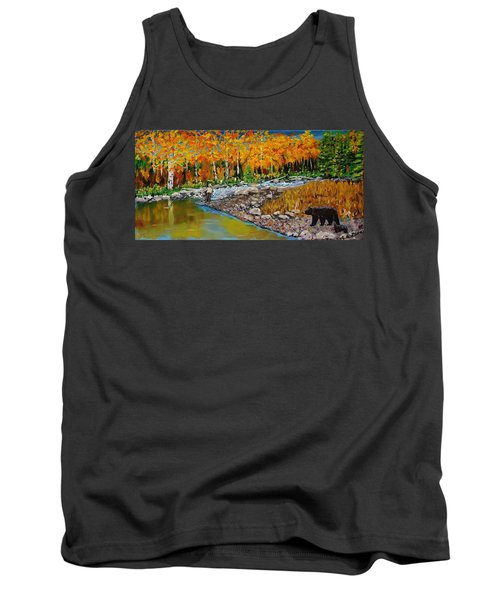 Look Around Joe Tank Top by Mike Caitham